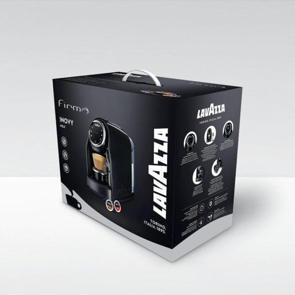 Lavazza firma uredski aparati i kapsule za kavu inovy milk